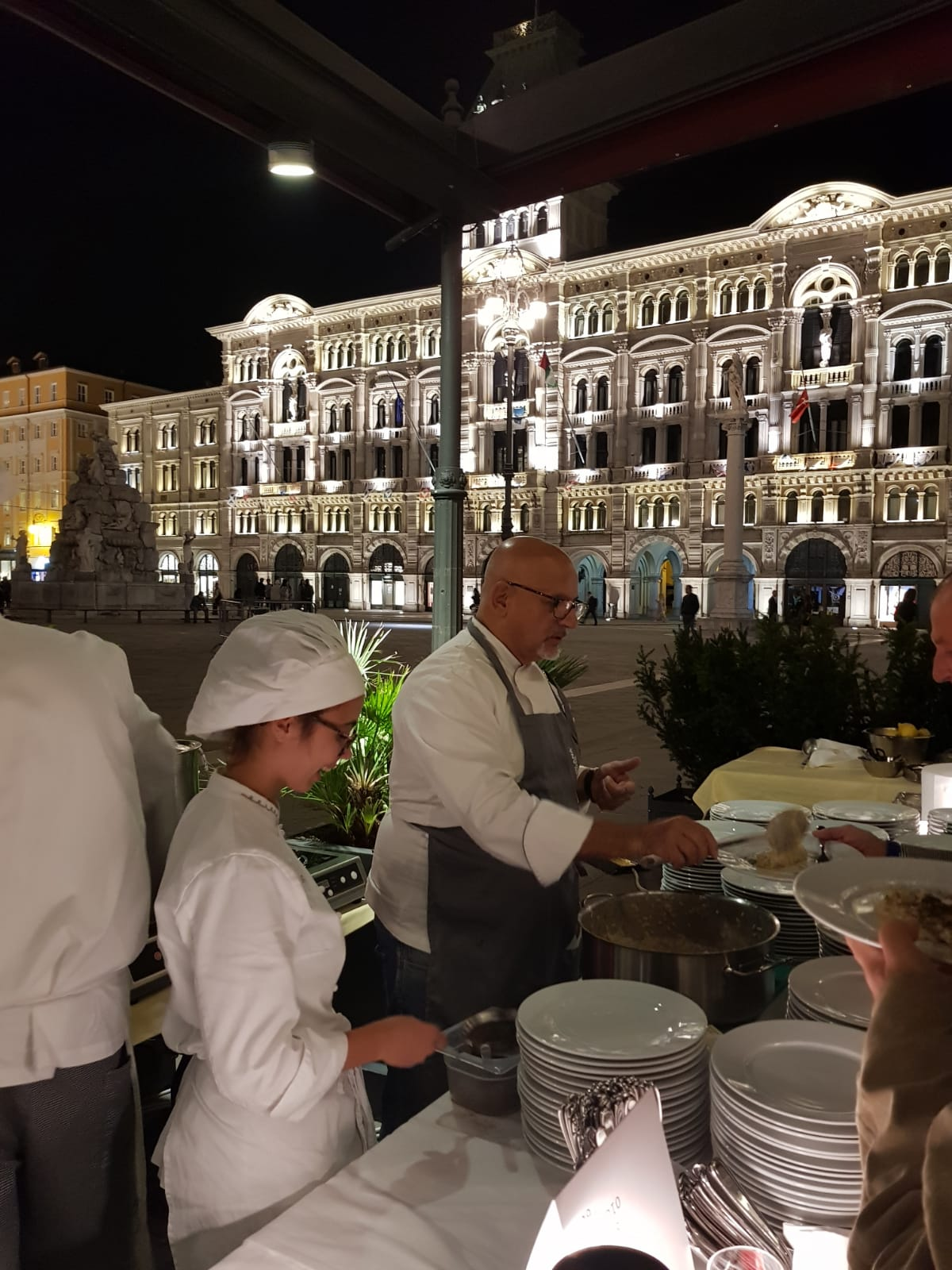 Barcolana chef Claudio Sadler