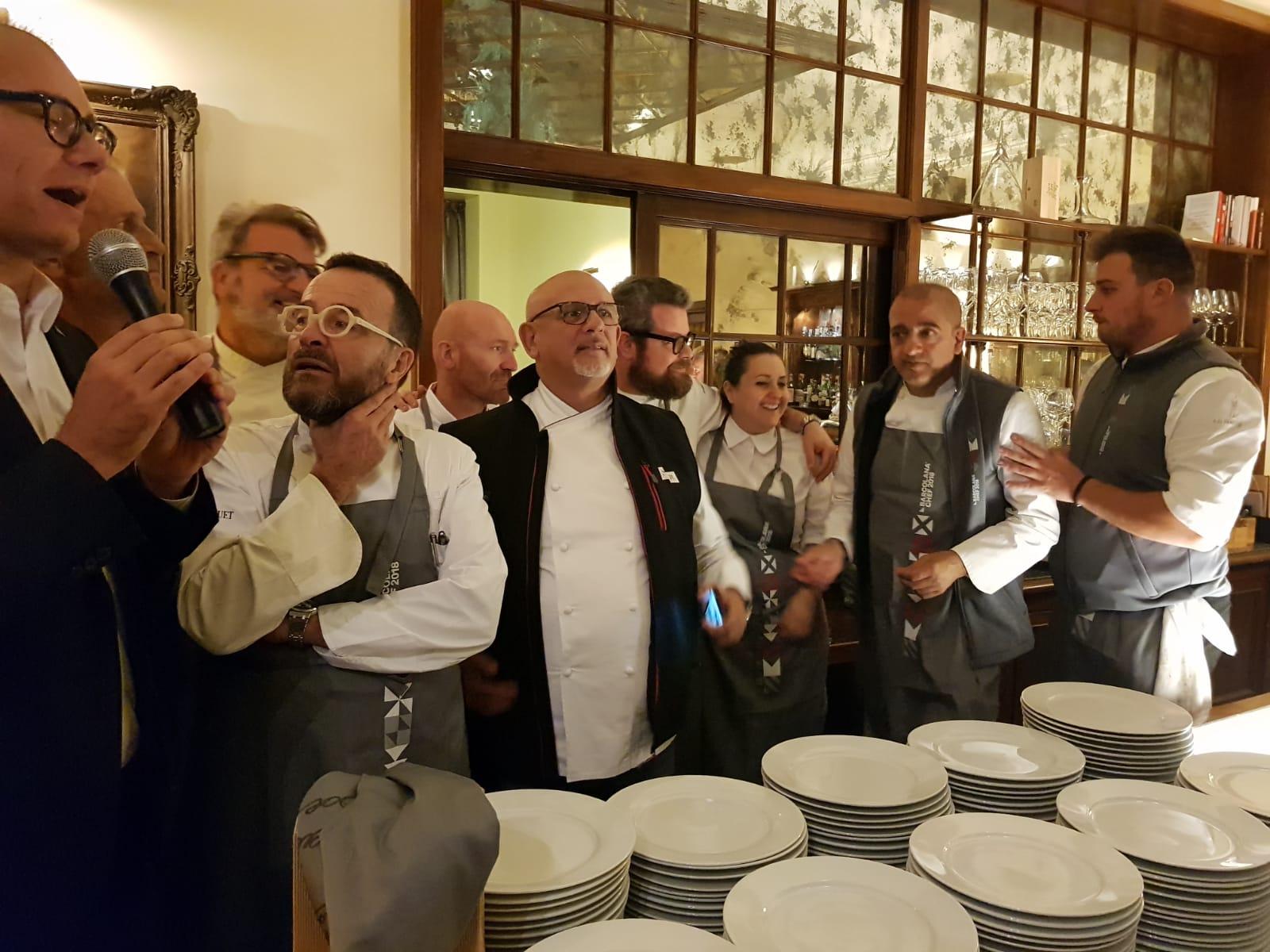 Barcolana chef 2018 gli chef