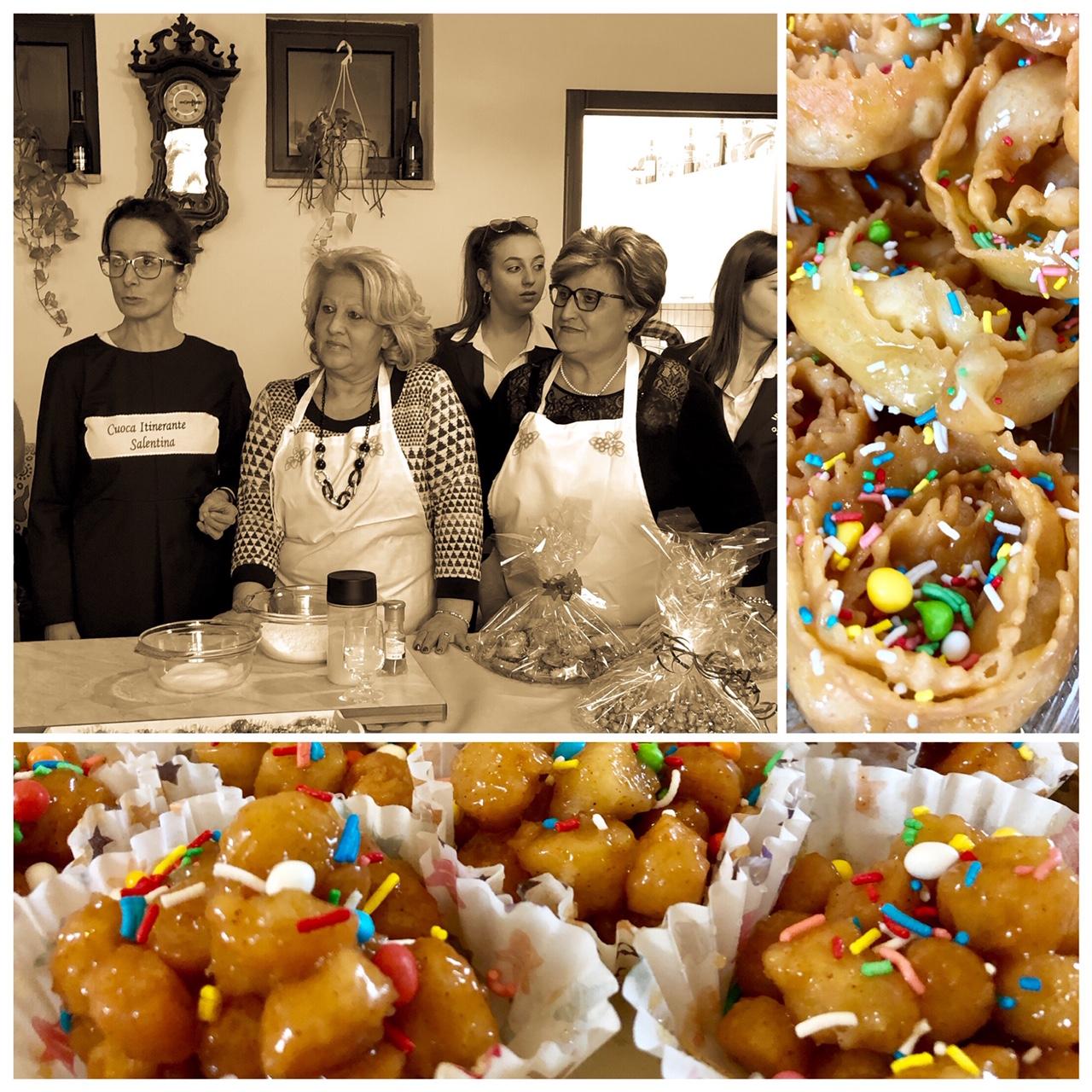I dolci di Natale del Salento purceddhruzzi e carteddhrate