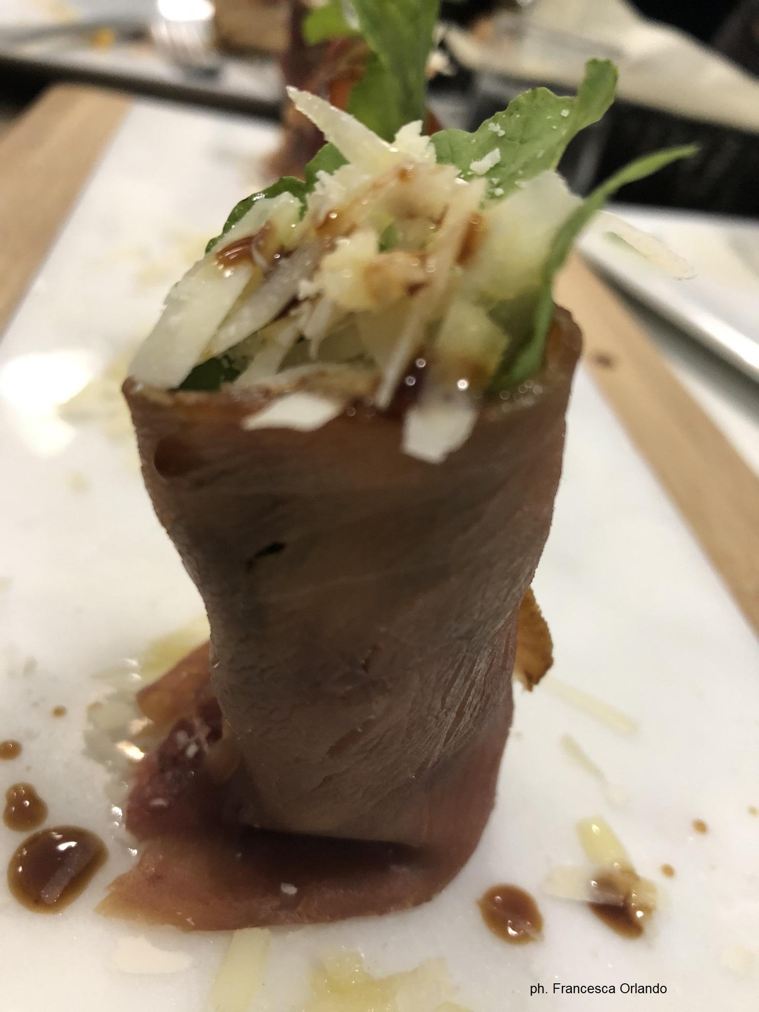 Offishina ristorante involtini di pesce