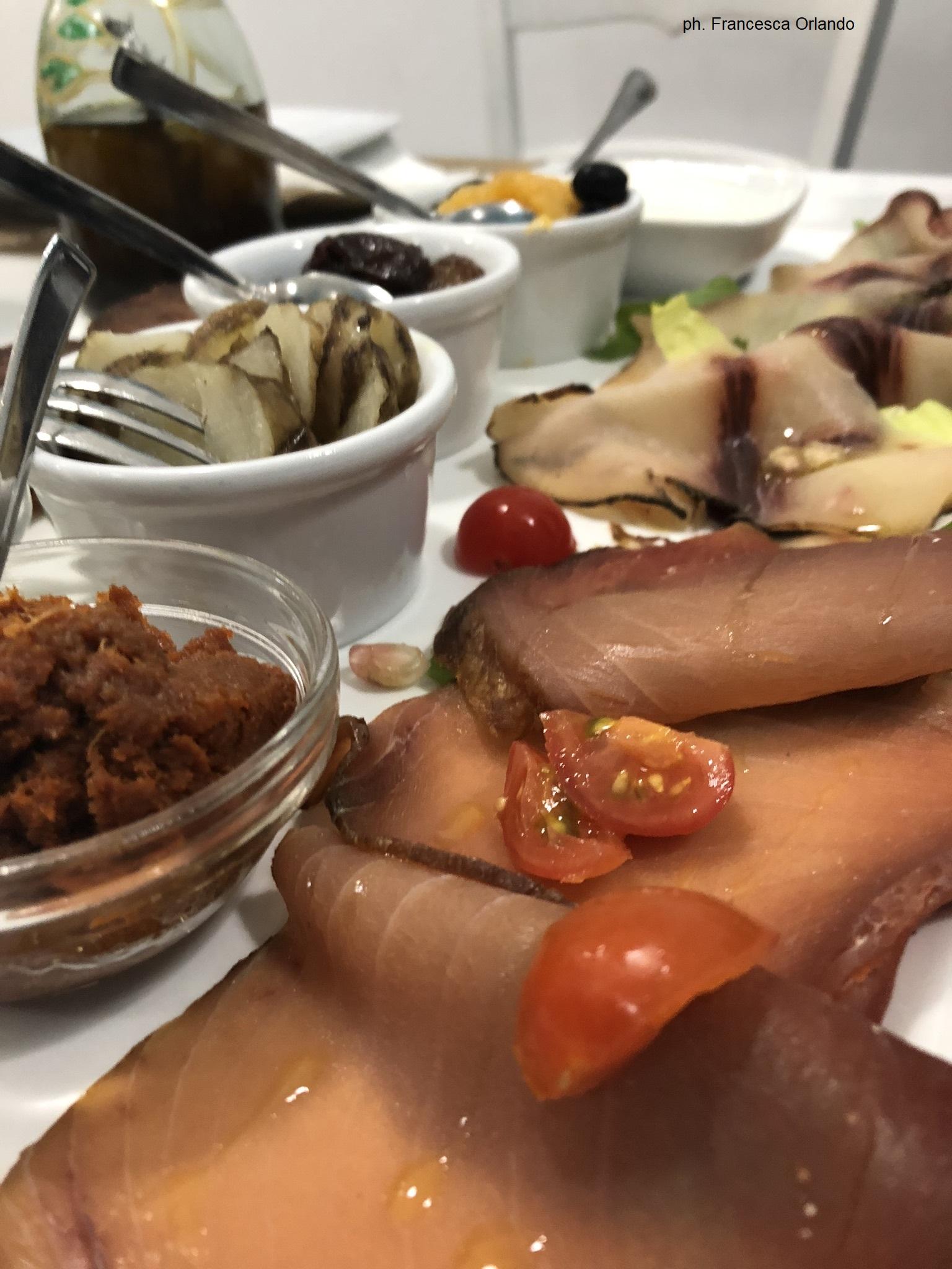 Offishina ristorante salumi di pesce