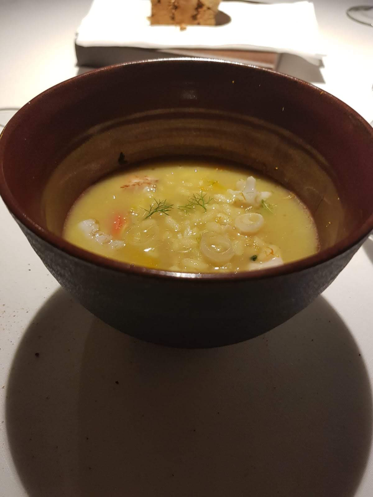 Antica osteria cera minestra di riso e verze